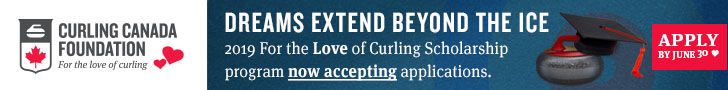 2019 For The Love of Curling Scholarship